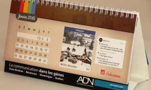 Calendrier de table